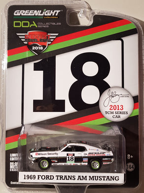 John Bowe 2013 TCM Series Car, 1969 Ford Trans Am Mustang, 1:64 Diecast Vehicle