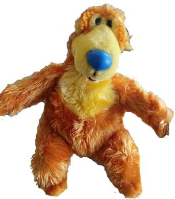 Jim Hensons Bear in the Big Blue House Plush Toy