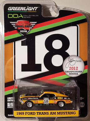 John Bowe 2012 Championship Winner, 1969 Ford Trans Am Mustang, 1:64 Diecast Vehicle