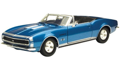 1967 Chev Camaro SS Convertible, American Classics, 1:24 Diecast Vehicle