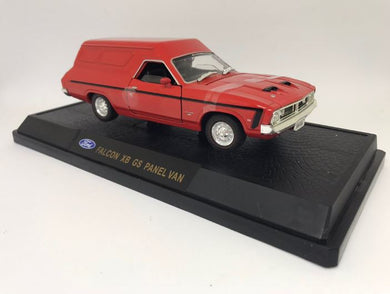 XB GS Ford Falcon Panel Van - Red Pepper, 1:32 Scale Diecast Vehicle
