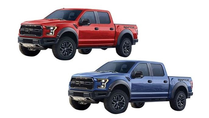 2017 Ford F-150 Raptor, Motor Max, 1:24 Diecast Vehicle