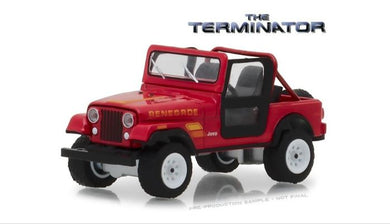 The Terminator (1984) Sarah Connors 1983 Jeeo CJ-7 Renegade, 1:64 Diecast Vehicle