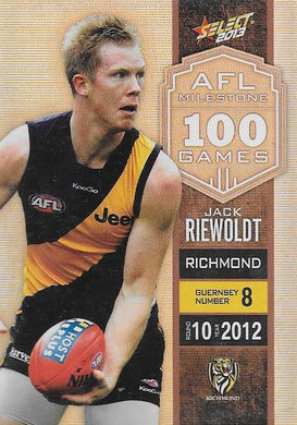 Jack Riewoldt, 100 Game Milestone, 2013 Select AFL Champions