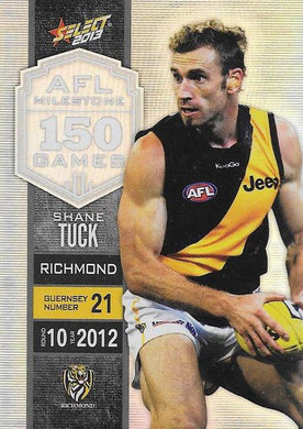 Shane Tuck, 150 Game Milestone, 2013 Select AFL Champions
