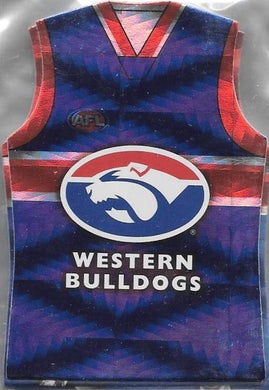 Western Bulldogs, Holofoil Guernsey Die-cut Team Set, 2010 Select AFL Prestige