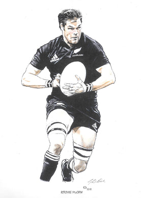 Ritchie McCaw, GregsArt A4 Print