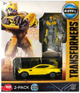 Transformers Camaro Bumble Bee 2-Pack Robot & Vehicle, Diecast Vehicle