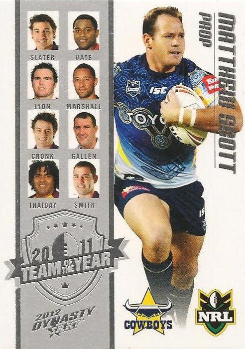 Matthew Scott, Team of the Year, 2012 Select NRL Dynasty