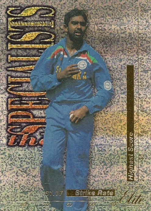 Asanka Gurisinha, The Specialists, 1996 Futera Elite Cricket