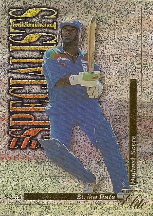 Aravinda De Silva, The Specialists, 1996 Futera Elite Cricket