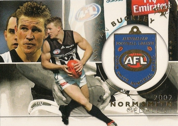 Nathan Buckley, Medallist, 2003 Select AFL XL