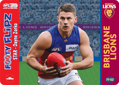 Dayne Zorko & Luke Power, Footy Flipz, 2019 Teamcoach AFL