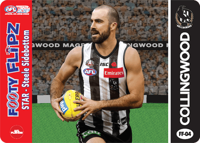 Steele Sidebottom & Tony Shaw, Footy Flipz, 2019 Teamcoach AFL