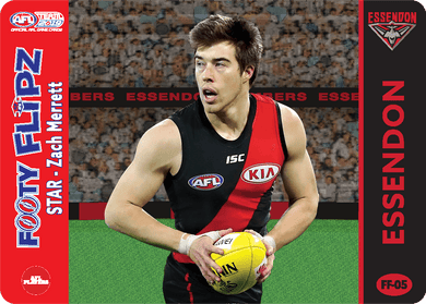 Zach Merrett & Paul Salmon, Footy Flipz, 2019 Teamcoach AFL