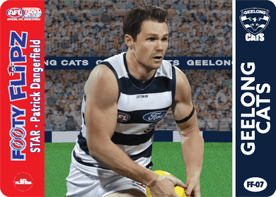 Patrick Dangerfield & Steve Johnson, Footy Flipz, 2019 Teamcoach AFL