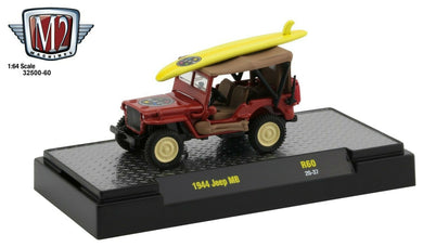 1944 Jeep MB, Maui & Sons, M2 Machines, 1:64 Diecast Vehicle