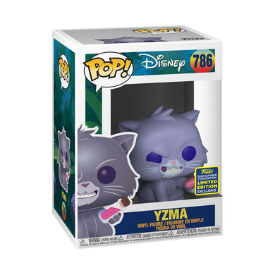 Emperors New Groove - Cat Yzma SDCC 2020 US Exclusive Pop! Vinyl [RS]