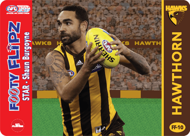Shaun Burgoyne & Sam Mitchell, Footy Flipz, 2019 Teamcoach AFL
