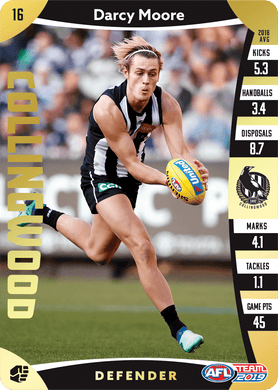 Darcy Moore, Gold, 2019 Teamcoach AFL