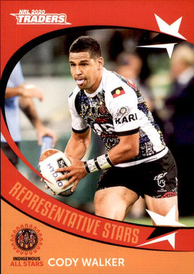 RS45 Cody Walker, Representative Stars, 2020 TLA Traders NRL