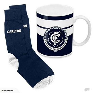 Carlton Blues Mug and Sock Gift Pack