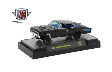 1965 Dodge Charger Gasser, Gassers, M2 Machines, 1:64 Diecast Vehicle
