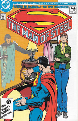 Superman The Man of Steel, Mini Series #6 Comic
