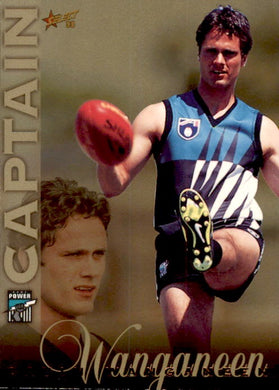 Gavin Wanganeen, Captain Card, 1998 Select AFL