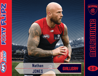 Nathan Jones, Footy Flipz Gallery, 2020 Teamcoach AFL