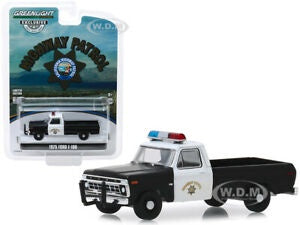 1975 Ford F-100, Calafornia Highway Patrol, 1:64 Diecast Vehicle
