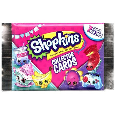 Shopkins Collector Cards Pack