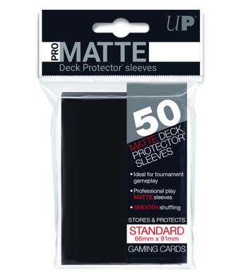 ULTRA PRO Deck Protector - Pro-Matte 50ct Black