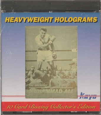 Kayo Heavyweight Holograms Set of 10 Boxing trading cards