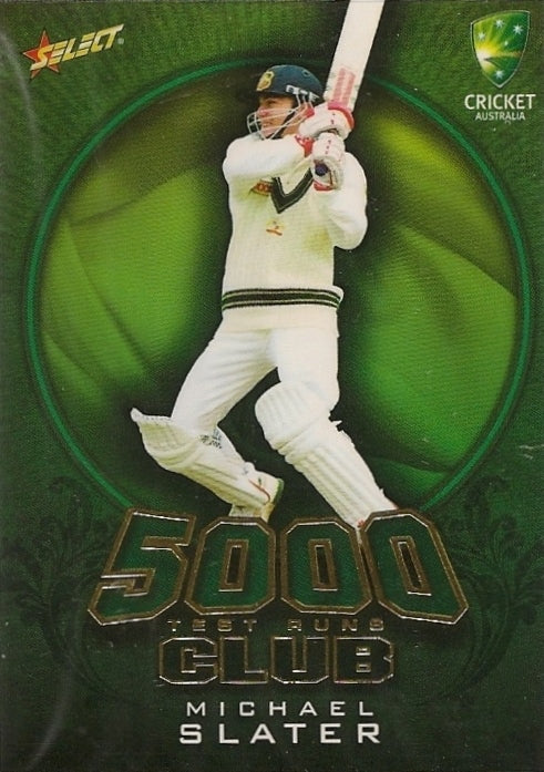 Michael Slater, 5000 Test Run Club, 2009-10 Select Cricket