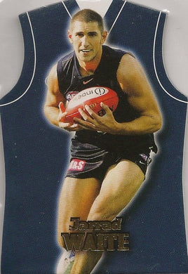 Carlton Blues, Guernsey Die-Cut Team Set, 2006 Select AFL Supreme