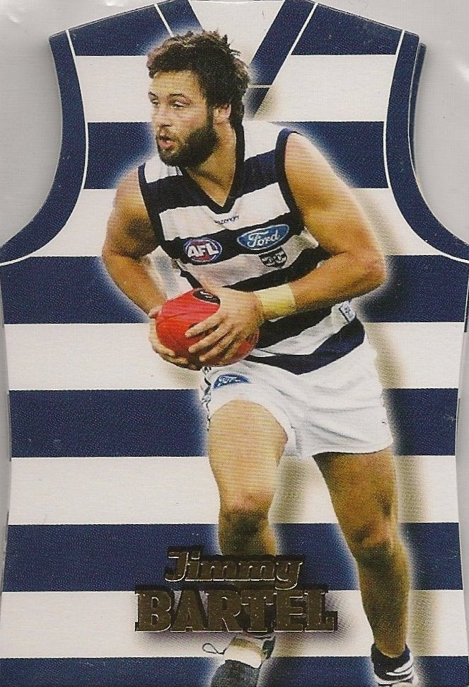 Geelong Cats, Guernsey Die-Cut Team Set, 2006 Select AFL Supreme