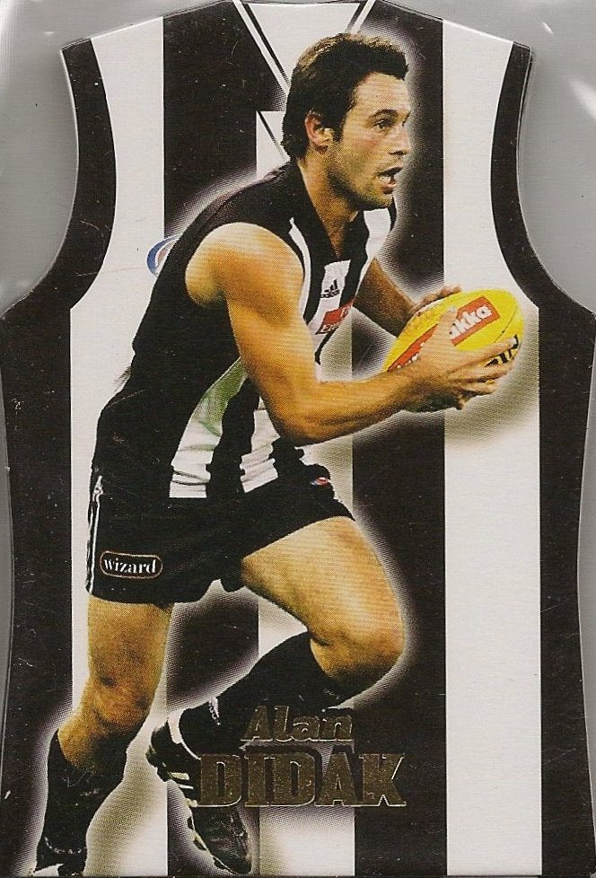 Collingwood Magpies, Guernsey Die-Cut Team Set, 2006 Select AFL Supreme