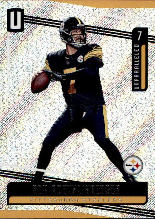 Ben Roethlisberger, 2019 Panini Unparalleled Football NFL