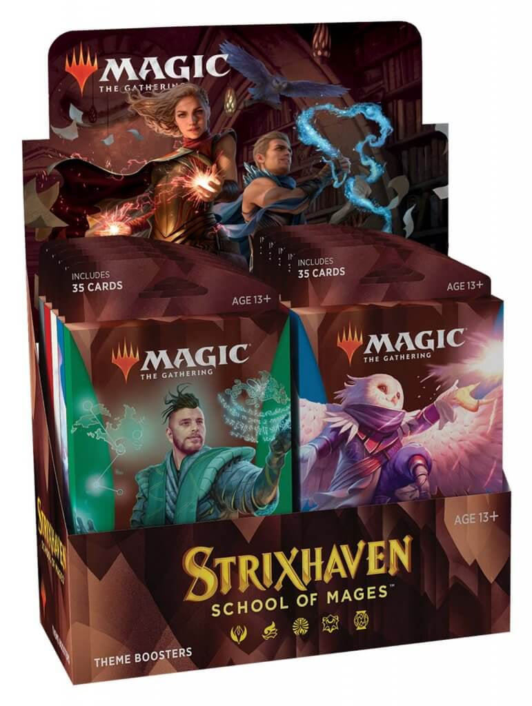 MAGIC: THE GATHERING Strixhaven: School of Mages - Theme Booster