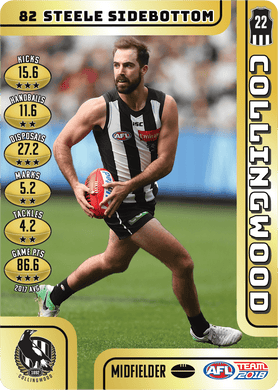 Steele Sidebottom, Gold, 2018 Teamcoach AFL