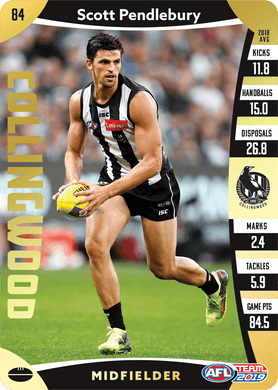 Scott Pendlebury, Gold, 2019 Teamcoach AFL