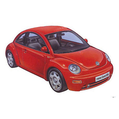 TAMIYA VOLKSWAGEN NEW BEETLE 1:24 Scale Model Kit