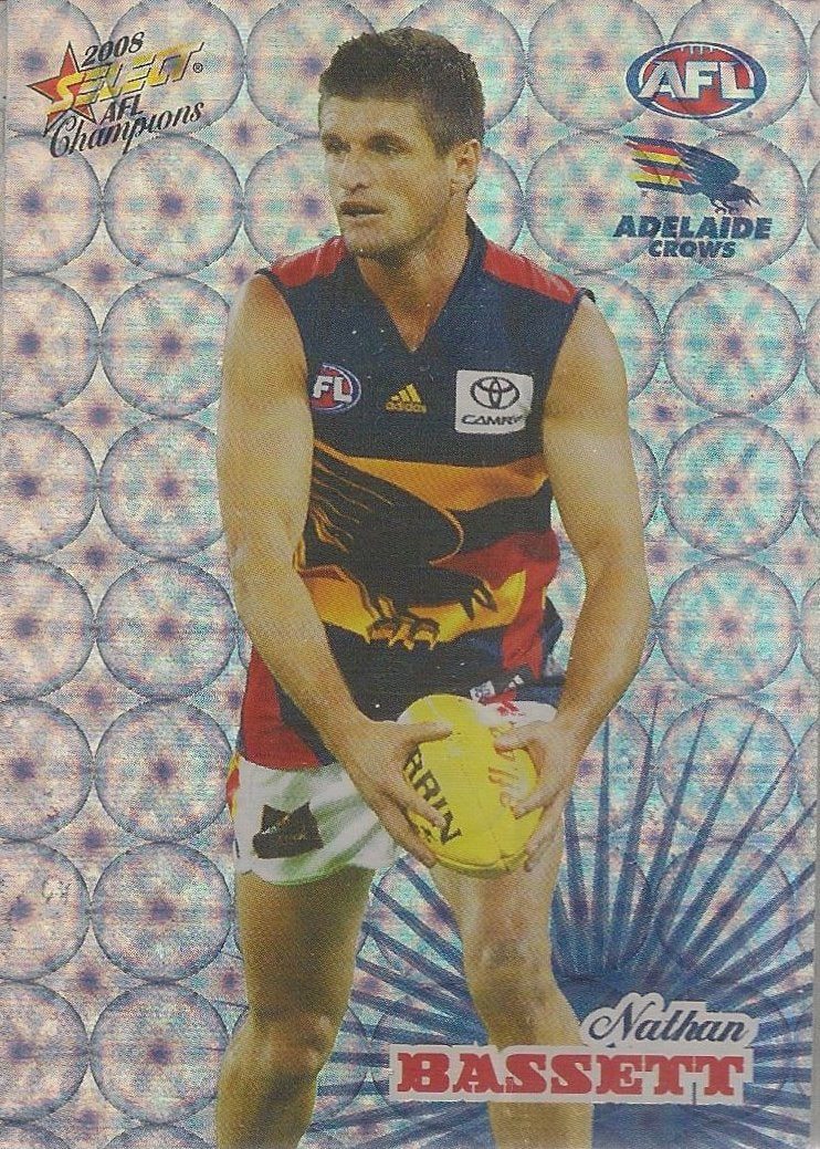 Adelaide Crows, Holofoil Team Set, 2008 Select AFL Champions