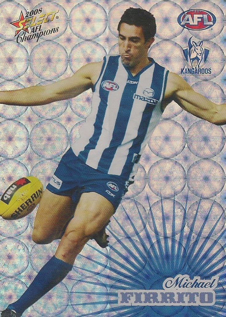 North Melbourne Kangaroos, Holofoil Team Set, 2008 Select AFL Champions