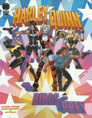 Harley Quinn and the Birds of Prey, Book Three Comic, Black Label