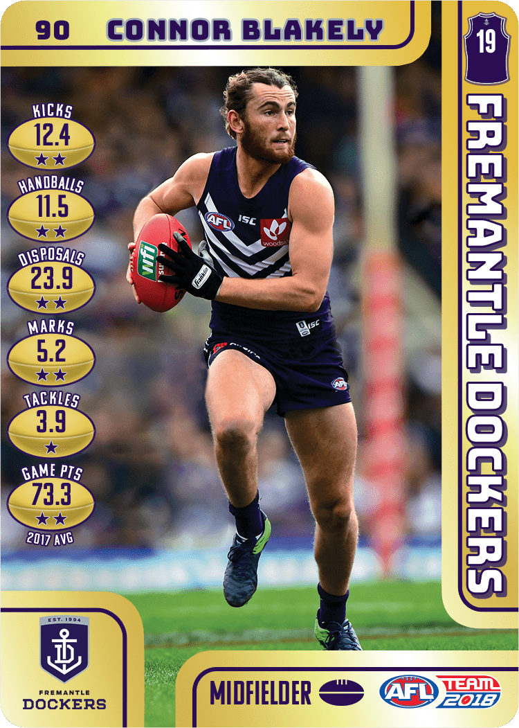 Connor Blakely, Gold, 2018 Teamcoach AFL