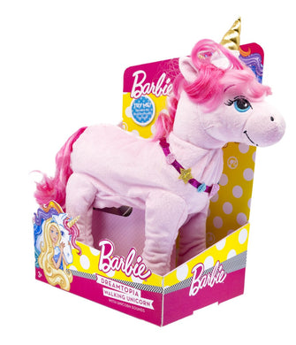 Barbie Dreamtopia Walking Plush Unicorn