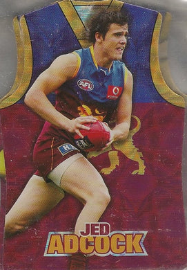 Brisbane Lions, Guernsey Die-cut Team Set, 2009 Select AFL Champions