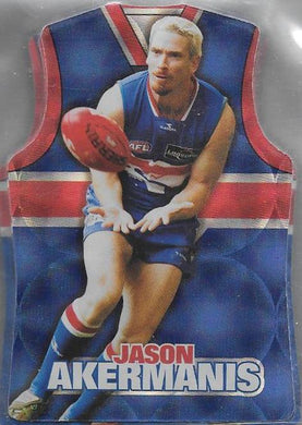 Western Bulldogs, Guernsey Die-cut Team Set, 2009 Select AFL Champions